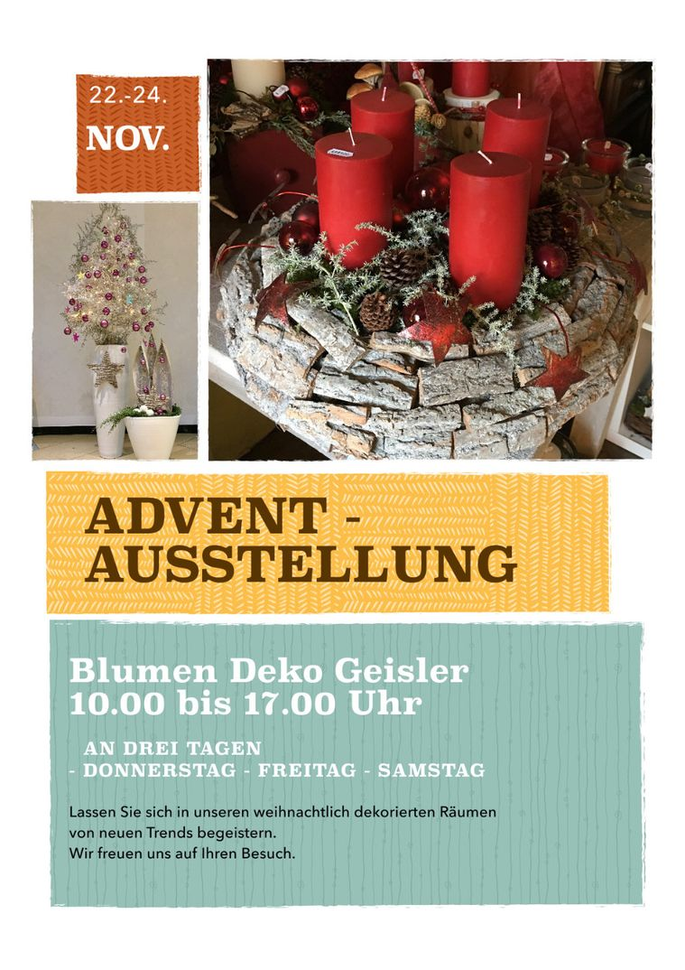 Flyer Advent 2018